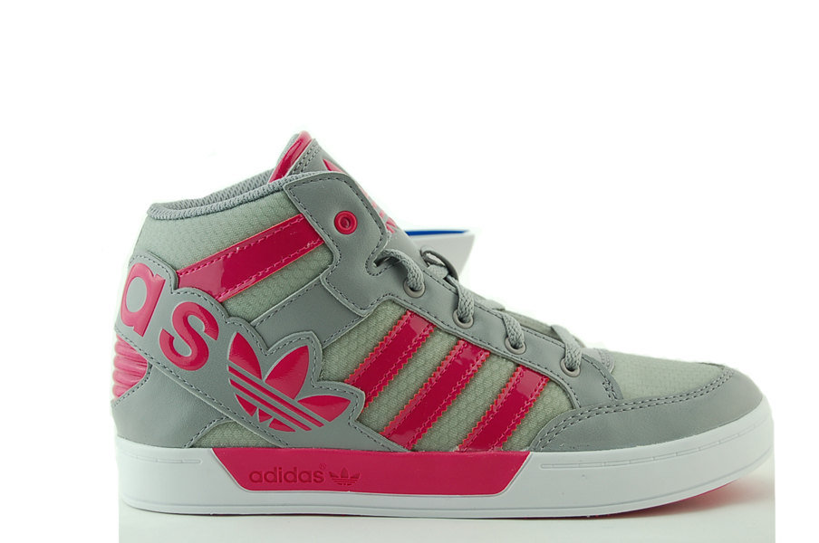 adidas Hard Court Hi Big Logo K Kinder Sneakers NEU
