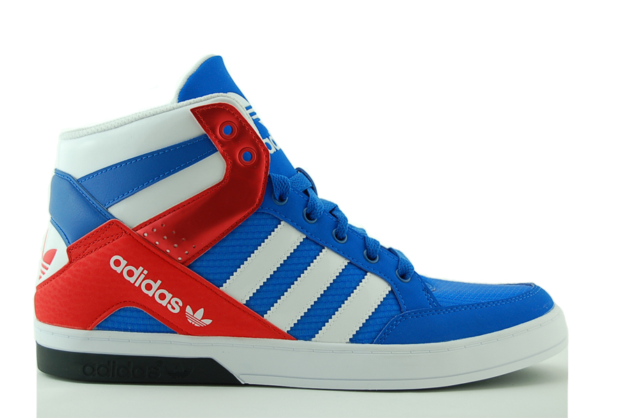 adidas Hardcourt Block Sneaker Herren Schuhe Blau NEU