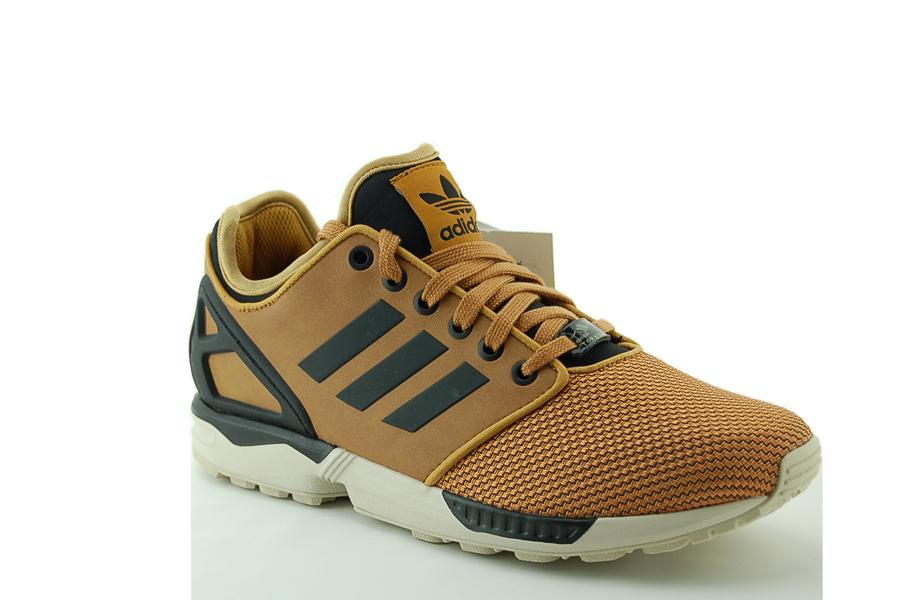 adidas zx flux braun