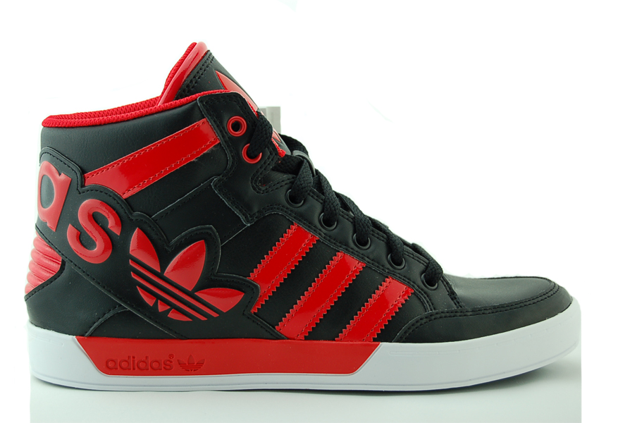 adidas Hard Court Hi Big Logo K Kinder Sneakers Schuhe NEU