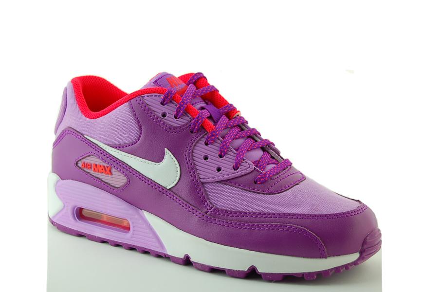 Nike Air Max 90 Mesh (GS) Sneakers Kinder Schuhe Leder NEU