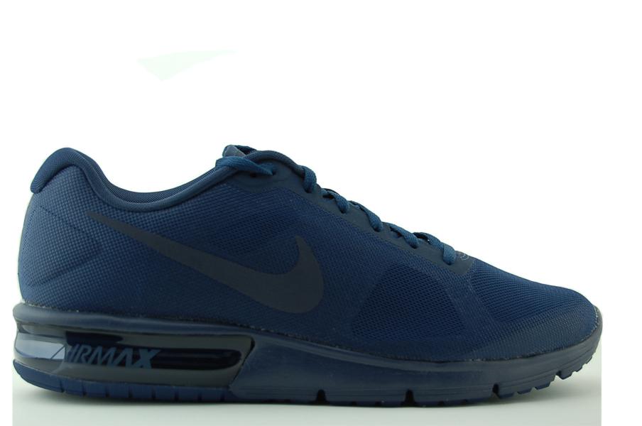 Nike Air Max Sequent Sneaker Herren Schuhe Blau NEU