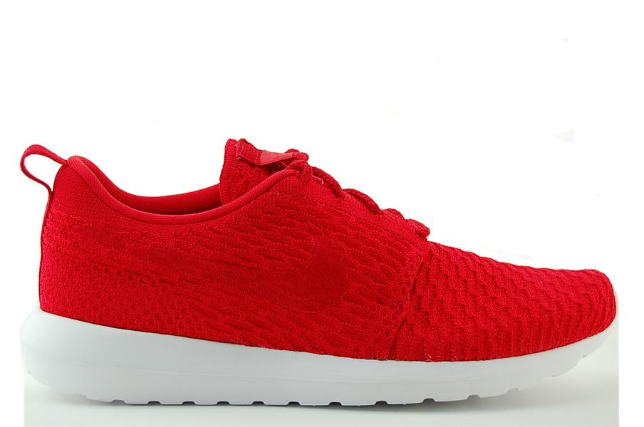 Nike Roshe NM Flyknit Sneaker Herren Schuhe Rot NEU