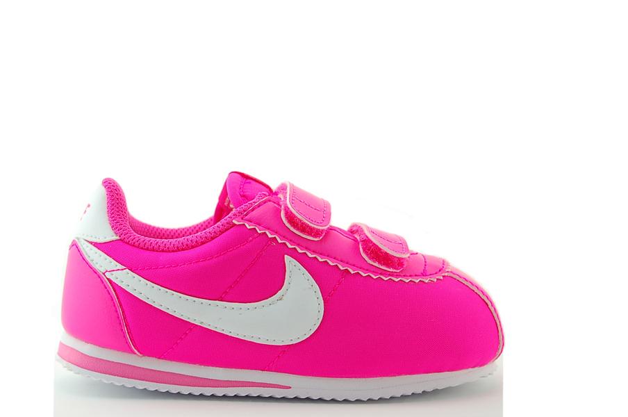 nike cortez nylon tdv sneakers kinder schuhe pink neu ebay. Black Bedroom Furniture Sets. Home Design Ideas