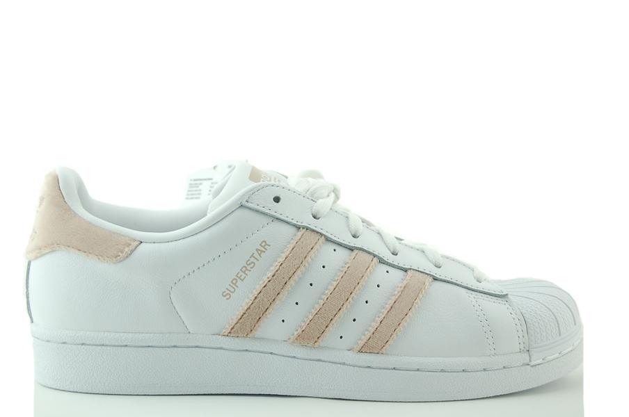 adidas Superstar W Sneakers Damen Schuhe Weiß Leder NEU