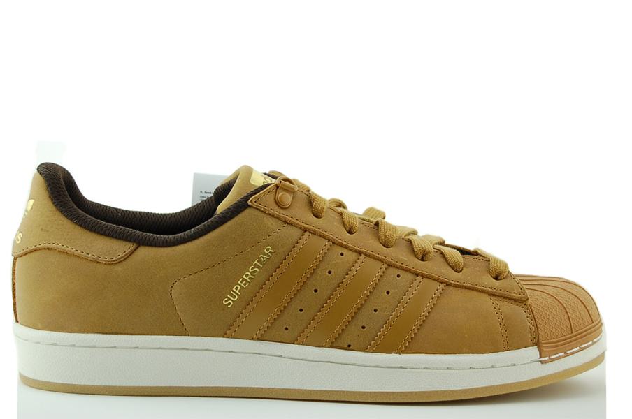 adidas Superstar Sneaker Herren Schuhe Braun NEU