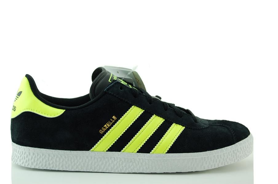 adidas Gazelle 2 J Sneakers Kinder Schuhe Schwarz NEU