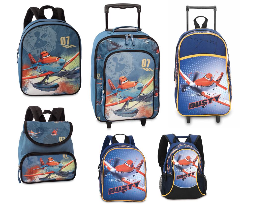 Disney Planes Kinder Rucksack Tasche Trolley NEU
