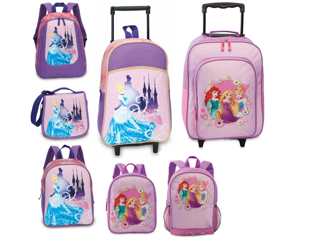 Disney Cinderella Princess Kinder Rucksack Trolley Schultertasche NEU