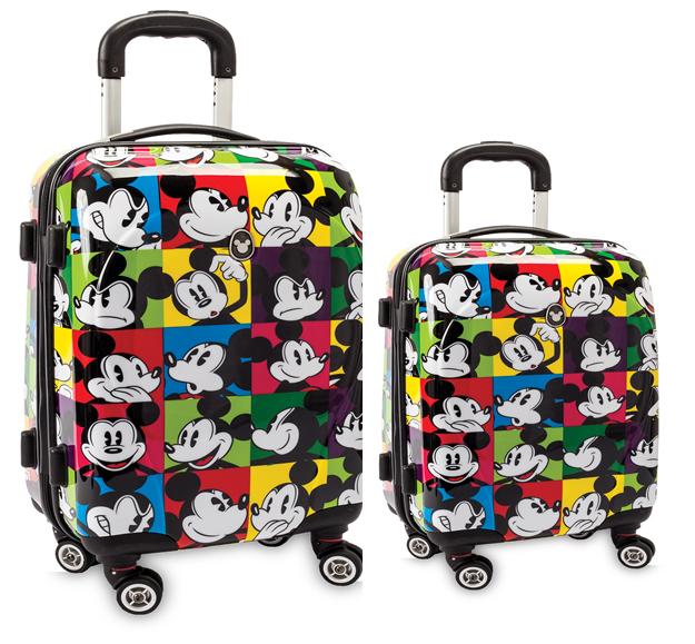 Disney 2-teiliges Trolleyset Hartschalenkofferset NEU